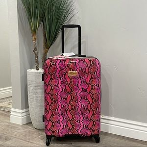 NWT Juicy Couture Snakeprint Collection Suitcase
